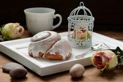 Manhã romântica ao estilo de Provence Fotografia de Stock Royalty Free