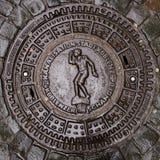 MANHÅLRÄKNING, KOBLENZ arkivbilder