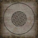 Manhålräkning (sömlös textur) Arkivbild