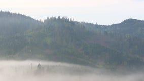Manhã da montanha antes do nascer do sol filme