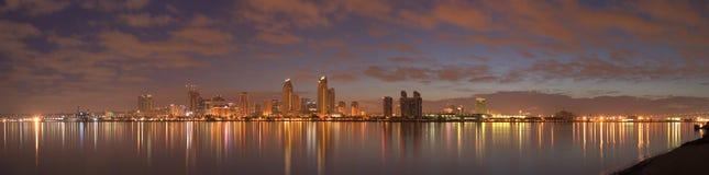 Manhã em San Diego Fotografia de Stock