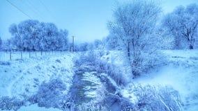 Manhã gelado Fotografia de Stock