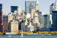 Manhattan. Of New York City, USA Royalty Free Stock Images