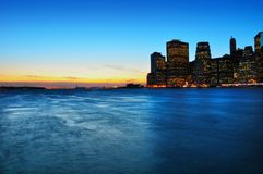Manhattan Imagenes de archivo