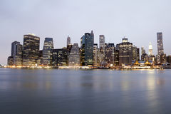 Manhattan Photographie stock libre de droits