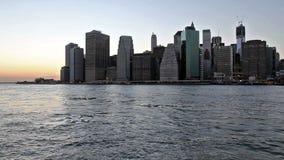 Manhattan almacen de metraje de vídeo