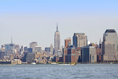 Manhattan Royalty Free Stock Photo