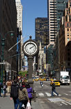 Manhattan 5th Avenue. New York City 5th Avenue royalty free stock image