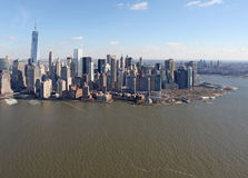 Manhattan from above, USA Royalty Free Stock Photo