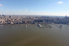 Manhattan from above, USA Royalty Free Stock Image