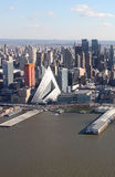 Manhattan from above, USA Stock Image