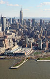 Manhattan from above, USA Royalty Free Stock Photos