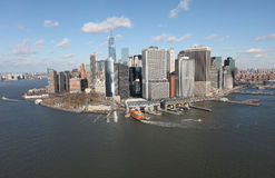 Manhattan from above, USA Stock Photography