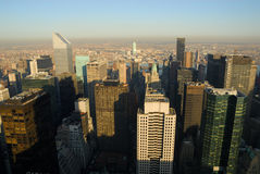 Manhattan aerial view, New York Royalty Free Stock Photography