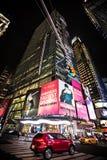 Manhattan alla notte Immagine Stock Libera da Diritti