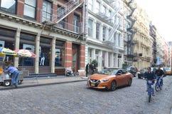 Manhattan-Ansicht in NYC Stockfotografie