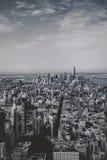 Manhattan-Ansichten vom Empire State Building Lizenzfreie Stockfotografie