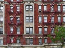 Manhattan apartment building Stock Photography