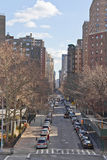 Manhattan apartment buildings Stock Images