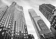 Manhattan architecture Stock Photography