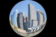 Manhattan architecture Royalty Free Stock Image