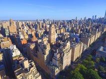 Manhattan aéreo Fotos de Stock