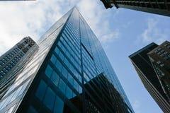 Manhattan-Büros Stockfoto