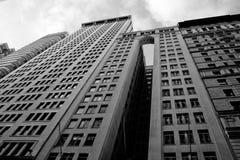 Manhattan-Büros Stockfotografie