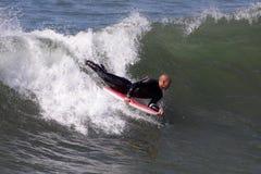Manhattan Beach冲浪 库存图片