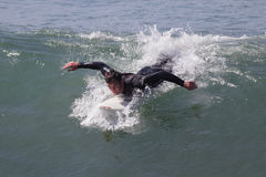 Manhattan Beach冲浪 图库摄影
