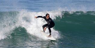 Manhattan Beach冲浪 免版税图库摄影