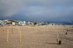 Manhattan Beach. In Los Angeles, California Royalty Free Stock Image