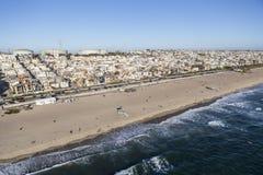 Manhattan Beach California Aerial Stock Images