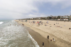 Manhattan Beach California Stock Photo