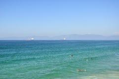 Manhattan beach california summer surfing Stock Photography