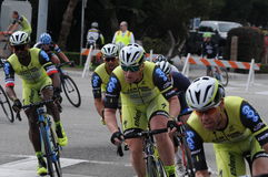 Manhattan Beach 2015 Grand Prix Pro cycling Royalty Free Stock Image