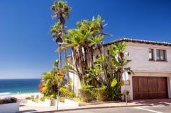 Manhattan Beach Kalifornien hus Royaltyfria Bilder