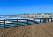 Manhattan Beach Pier California Photographie stock libre de droits
