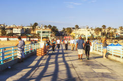 Manhattan Beach Pier, California, USA Stock Photography