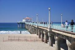 Manhattan Beach Pier Royalty Free Stock Image