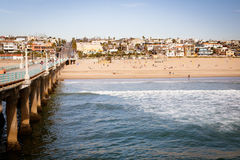 Manhattan Beach Pier Royalty Free Stock Photo