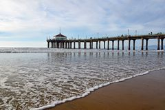 Manhattan Beach royalty free stock photos
