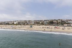 Manhattan Beach Summer Stock Image
