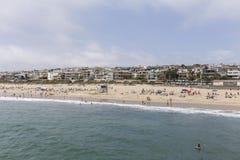 Manhattan Beach Summer Stock Image