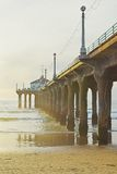 Manhattan Beach Sunset royalty free stock images