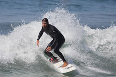 Manhattan Beach Surfing Royalty Free Stock Image