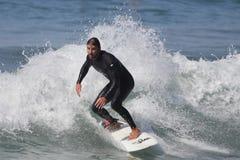 Manhattan Beach Surfing Royalty Free Stock Image