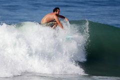 Manhattan Beach Surfing Royalty Free Stock Photography