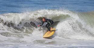 Manhattan Beach Surfing Royalty Free Stock Photography