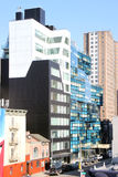 Manhattan Blue Building Stock Photo